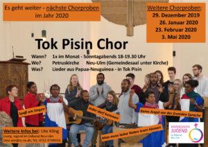 Tok Pisin Chor in Neu-Ulm @ Ev. Petruskirche Neu-Ulm